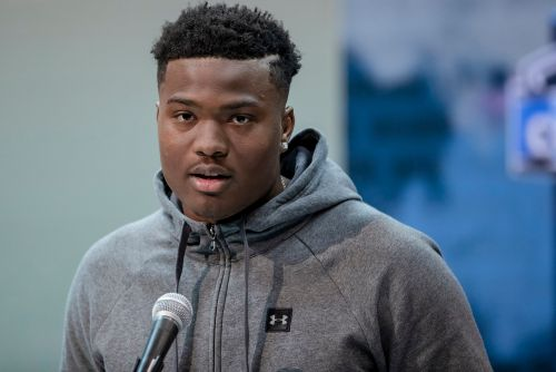 Giants break out the big guns for Dwayne Haskins dinner