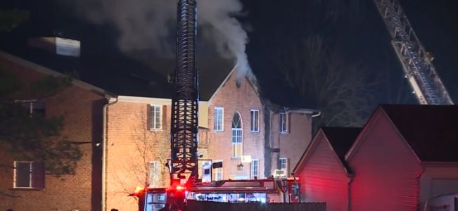 FD: 1 injured, 30 displaced after fire at apartment complex in Fairfield