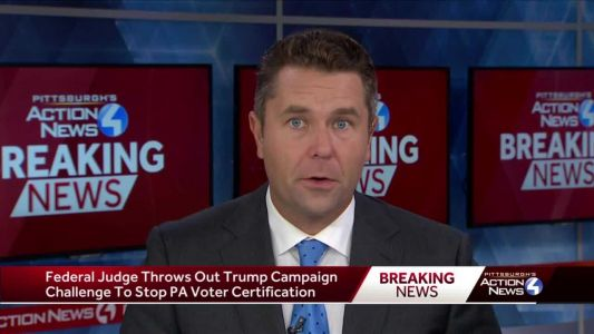 Federal judge throws out Trump campaign challenge to stop Pennsylvania's election certification