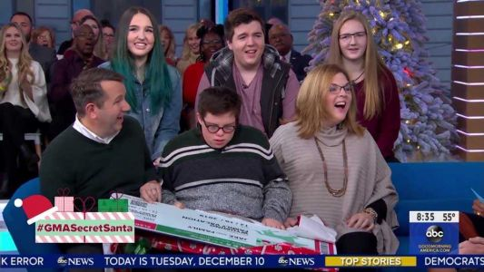 Mass. family who took in student with Down syndrome gets GMA surprise