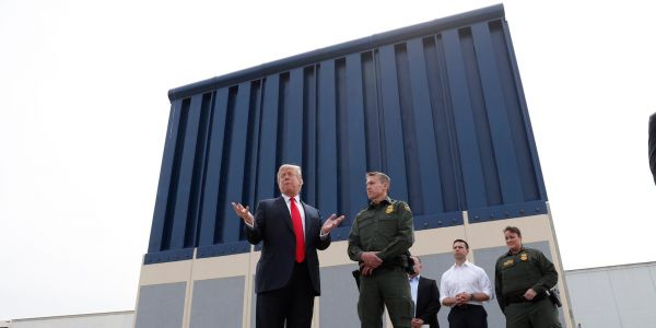 Trump wants to take more money from the military for a border wall - here's what could get cut