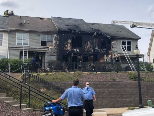 Firefighters battle 2-alarm fire in the Hill District