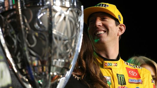 Emotional season ends with NASCAR championship for Kyle Busch, Joe Gibbs Racing