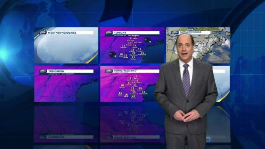 Watch: Arctic chill for weekend