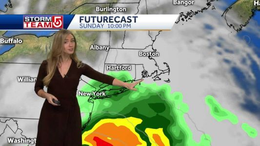 Video: Tropical system could impact New England next week