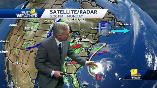 Pack and umbrella, off and on showers coming Tuesday