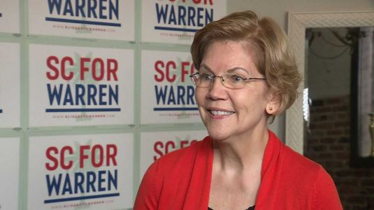Warren rallies in Greenville, talks exclusively with WYFF News 4