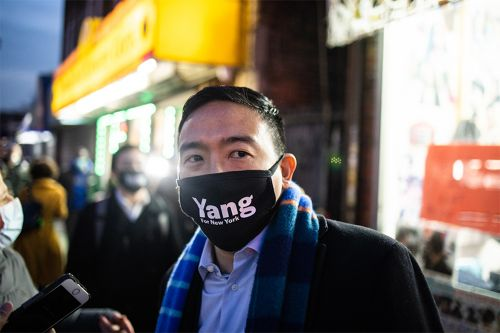 Andrew Yang blasted after comparing BDS movement to fascism