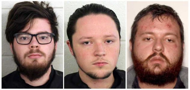 3 men arrested after police bust Georgia neo-Nazi training camp; planned to overthrow government, kill couple, police say
