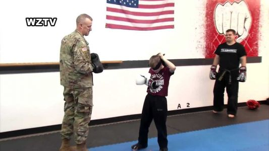 This heartwarming reunion between a boy and his Army father is the best thing you'll see today