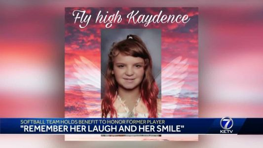 'Remember her laugh and her smile': Softball team organizing benefit to honor 10-year-old teammate