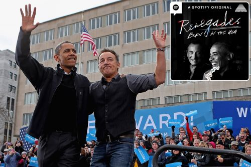 Obama, Bruce Springsteen team up for new Spotify podcast