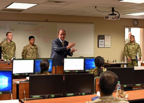 Under secretary: Goodfellow AFB building lethal, ready force