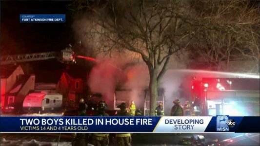 2 boys killed in Fort Atkinson house fire