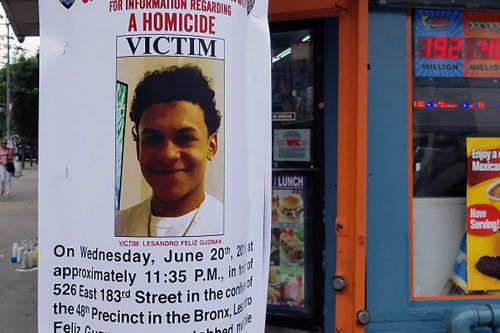 Bronx murder rates spike amid innocent teen's slaying