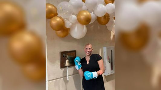 'A great mix of feelings': Teacher rings bell after last round of chemotherapy treatment