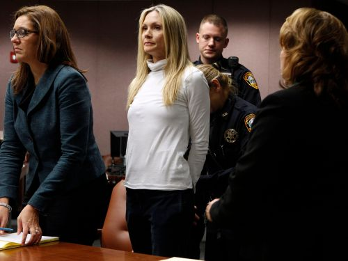 A former 'Melrose Place' actress who already served time in prison is going back to jail after a judge said her initial sentence in 2013 was too lenient