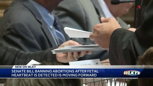 Senate bill banning abortions after fetal heartbeat detected moving forward