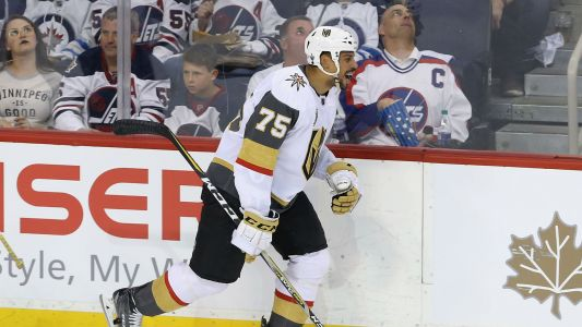 NHL playoffs 2018: Winnipeg native Ryan Reaves embraces jeers, stuns doubters as Golden Knights down Jets