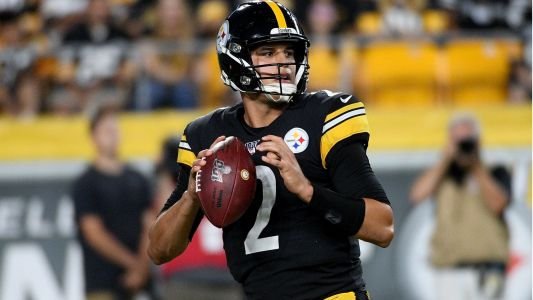 Mason Rudolph 'really, really, really impressed' Steelers teammates in NFL debut