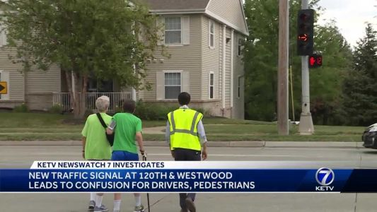 Neighbors raise concerns over drivers and flashing yellow arrows