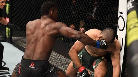 'There's a new BEAST in the middleweight division': Phil Hawes sends fans intoMELTDOWN afterSTUNNING 18-second debut at UFC 254