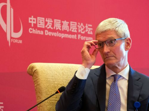 HSBC keeps pounding the table on Apple's slowdown in China