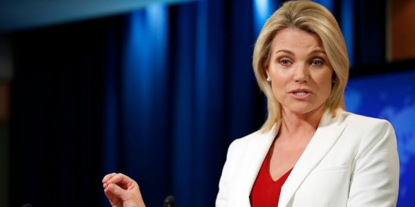 How Heather Nauert's unlikely rise at the State Department has made her a top contender for White House press secretary