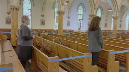 Boston Archdiocese releases video, encouraging social distancing at Mass