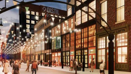 Here's the first look at downtown Louisville's 'Whiskey Alley'