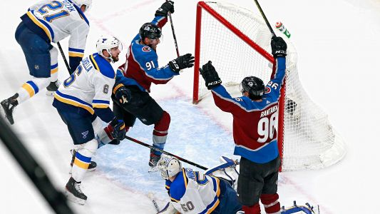 Avalanche beat Blues on Nazem Kadri's goal with 0.1 seconds remaining