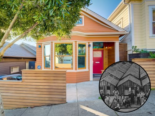 San Francisco's housing market is so dire that this tiny home built out of desperation after the 1906 earthquake for $50 is now selling for $2.5 million. Take a look inside