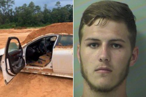 Florida man arrested for dumping dirt on girlfriend with tractor