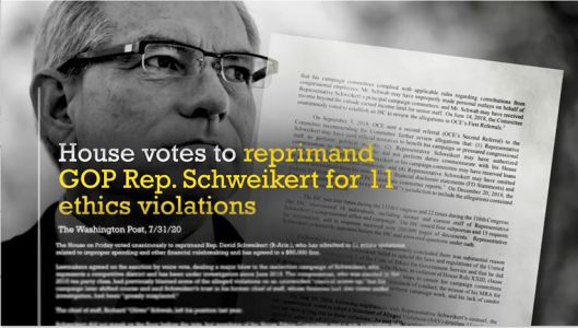 WATCH: New DCCC TV Ad Reminds Arizonans of Schweikert's 11 House Ethics Violations