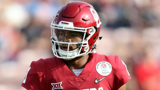 NFL Draft 2019: Baker Mayfield reacts to Cardinals selecting Kyler Murray with No. 1 pick