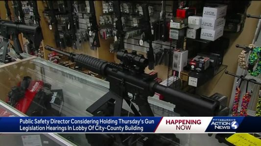 With high turnout expected, a public hearing on Pittsburgh's proposed gun legislation may be moved to the lobby of City-County Building
