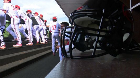 How a football helmet became UofL baseball's most celebrated piece of equipment