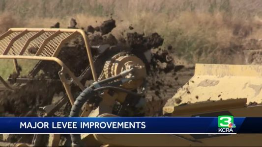 New construction at West Sacramento levee aims to protect homes