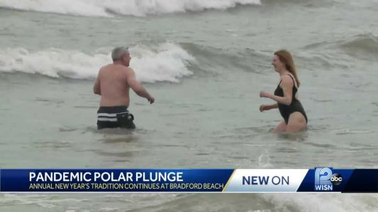 Polar Plunge tradition continues amid pandemic