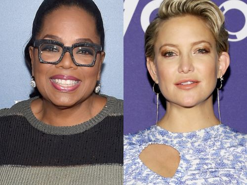 Oprah Winfrey welcomed Kate Hudson to the Weight Watchers family on FaceTime - watch