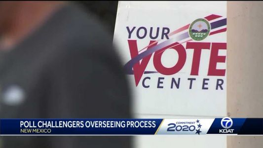 Expect to see poll challengers at voting sites
