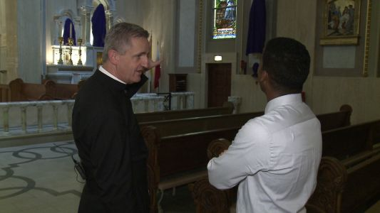Local priest, France native, reflects on Notre Dame cathedral fire