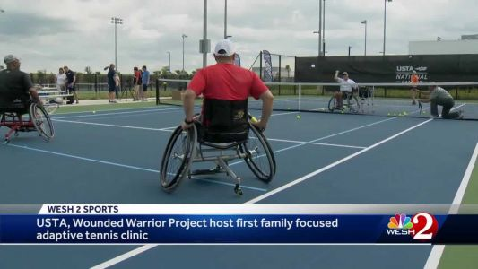 USTA, Wounded Warrior Project host first family-focused adaptive tennis clinic