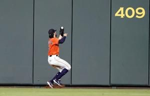 Marisnick's bat, glove help Astros top Sale, Red Sox 4-3