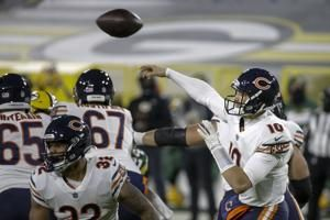 Turnover-prone Trubisky returns but can't stop Bears' slide