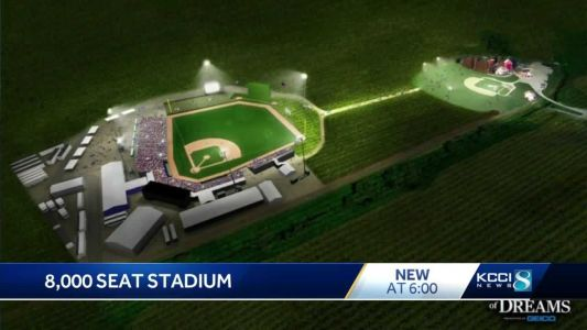 Construction of MLB field underway at 'Field of Dreams' site