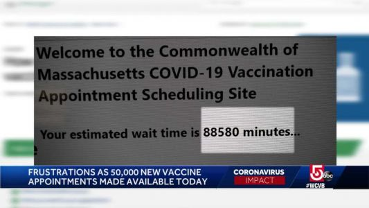'Pure madness;' Residents express frustration over vaccine appointment issues
