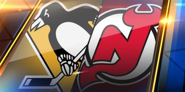 Rust scores 2, Crosby gets goal, 2 assists, Pens beat Devils
