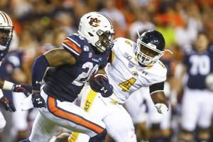 Whitlow, Nix lead No. 8 Auburn past Kent State, 55-16