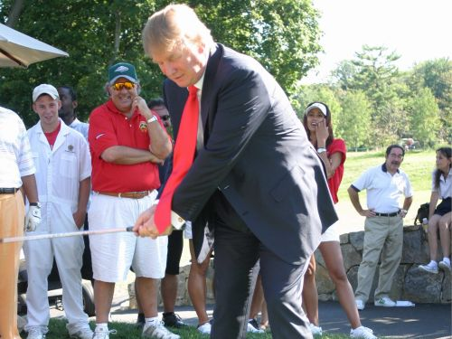 A Scottish lawmaker wants to investigate Trump over money laundering tied to two golf courses he owns in the country